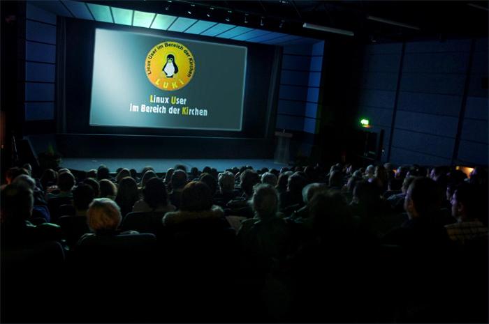 Linux: Tux geht in die Kirche