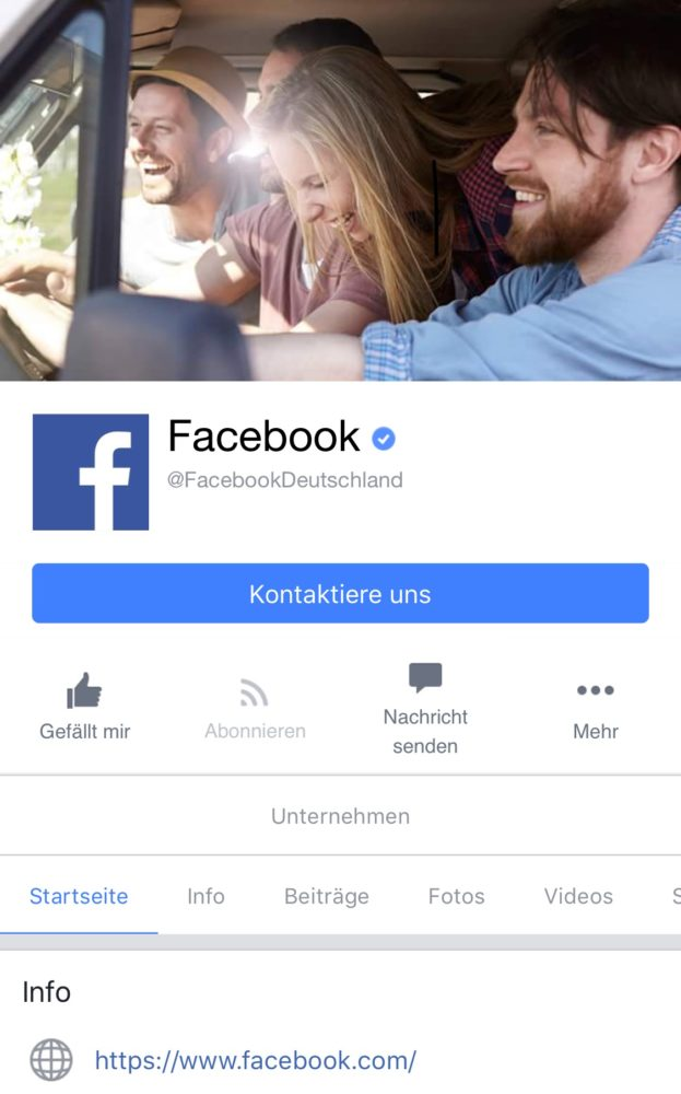 screenshot facebookmobil