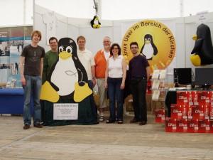 Die LUKi-Crew beim Kirchentag in Bremen 2009