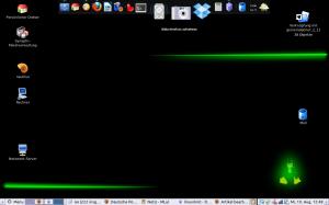 Gnome-Desktop mit docky