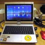 Easy Peasy auf dem Gigabyte Tablett-Netbook