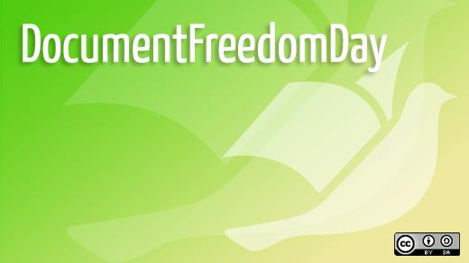 Document Freedom Day: Offene Dokumentenformate fördern