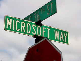 One Microsoft Way von ToddABishop bei Flickr