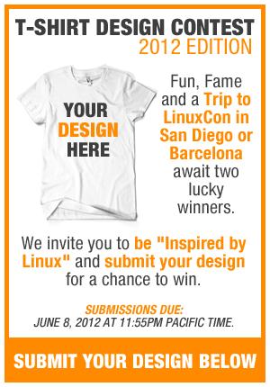 T-Shirt Design-Wettbewerb der Linux-Foundation