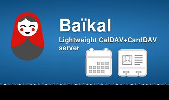 Syncen mit Baïkal - CalDAV und CardDAV Server