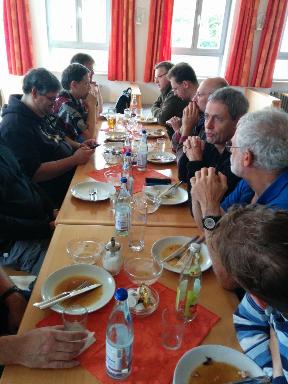 Mittagessen am Samstag im Kolpnghaus