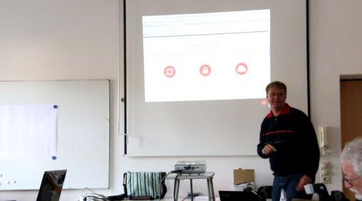 Peters Vortrag über snycany