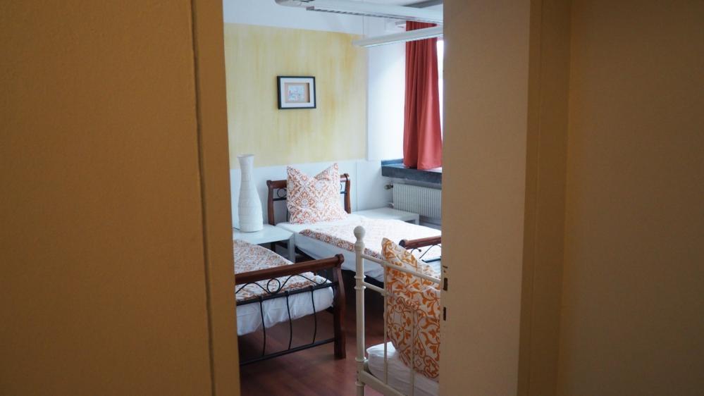 Unsere Zimmer im WG-Hotel