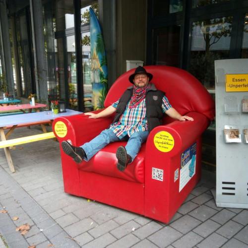 Der Sessel: Endlich Füße hoch!