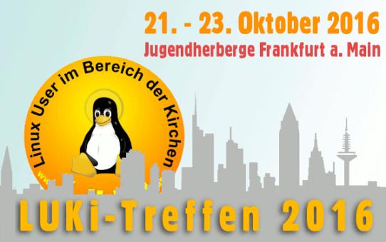 Einladung zum LUKi-Treffen 2016 nach Frankfurt