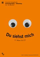 LUKi e.V., auf dem Kirchentag in Berlin - Plakatmotiv