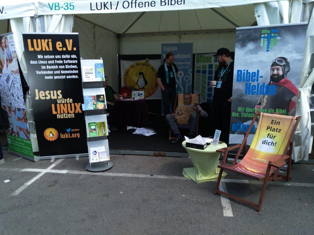 Foto - Unser Stand im Münster am Freitag