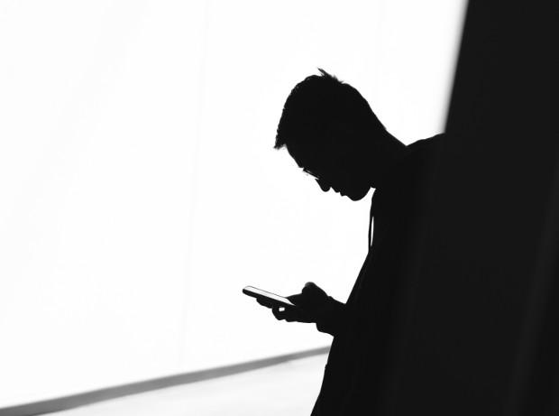 Smartphone Nutzender
