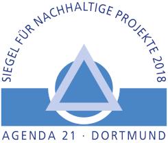 Siegel für nachhaltige Projekte 2018 Agenda 21 Dortmund