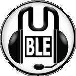 Das Mumble-Logo, ein stilisiertes Headset, dass das Wort Mumble bildet.