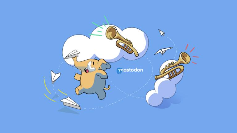Link zu unserem Mastodon-Account