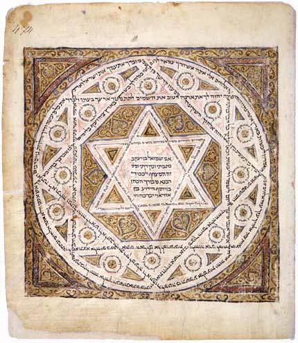Ausschnitt des Codex Leningradensis