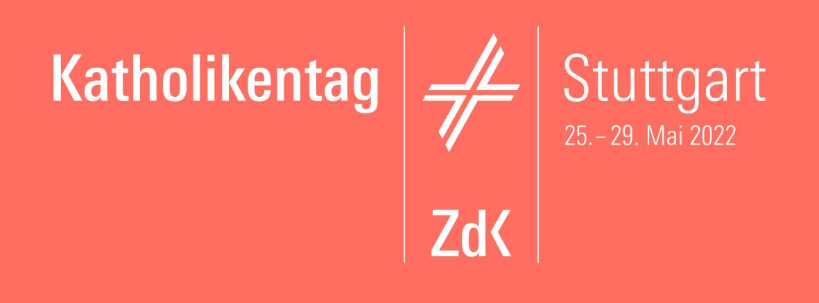 Logo des Katholikentages 2022 in Stuttgart